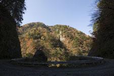 高の瀬峡の紅葉の画像002