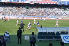 サッカースタジアムの画像024