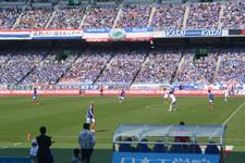 サッカースタジアムの画像046