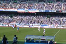 サッカースタジアムの画像051