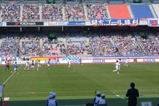 サッカースタジアムの画像053