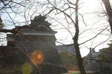 熊本城の天守閣の画像001