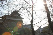 熊本城の天守閣の画像003
