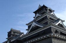 熊本城の天守閣の画像002