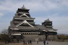 熊本城の天守閣の画像004