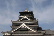 熊本城の天守閣の画像005