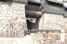 熊本城の天守閣の画像006