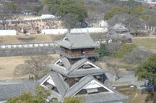 熊本城の小天守閣の画像002