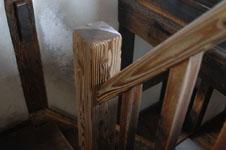 熊本城の宇土櫓の階段の画像001
