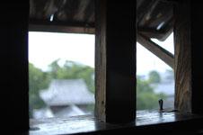 熊本城の宇土櫓の窓の画像001