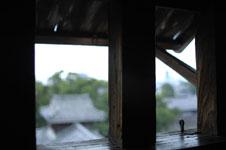 熊本城の宇土櫓の窓の画像002