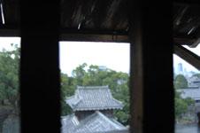 熊本城の宇土櫓の窓の画像003