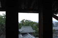 熊本城の宇土櫓の窓の画像004