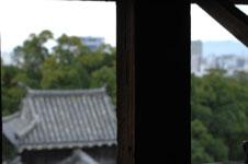 熊本城の宇土櫓の窓の画像005