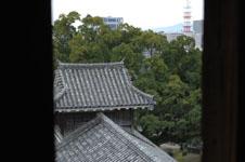 熊本城の宇土櫓の窓の画像006