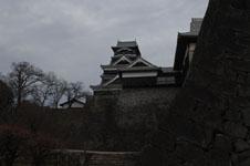 熊本城の天守閣の画像007