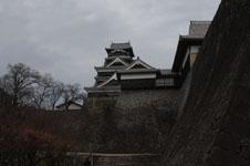 熊本城の天守閣の画像008