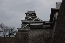 熊本城の天守閣の画像009