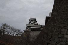 熊本城の天守閣の画像010