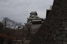 熊本城の天守閣の画像011
