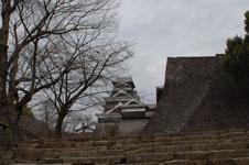 熊本城の天守閣の画像012