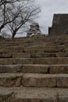 熊本城の天守閣の画像015