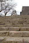 熊本城の天守閣の画像016