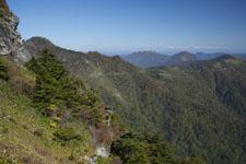 瓶ヶ森の山の画像026