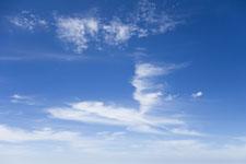 御嶽山の青空