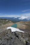 御嶽山の湖の画像001