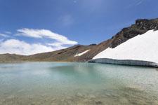 御嶽山の湖の画像002