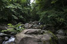 床鍋谷の川の画像002