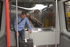 シアトル・タコマ国際空港の電車の画像002