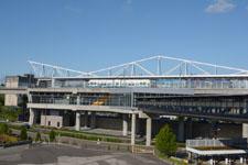 シアトル・タコマ国際空港の電車の画像005