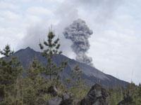 桜島の噴火の画像002
