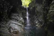 安居渓谷の滝の画像002