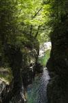 安居渓谷の川の画像001