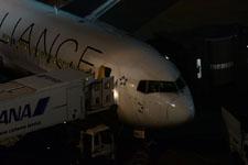 夜の成田国際空港の画像007