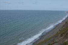 オリンピック国立公園の崖の画像002