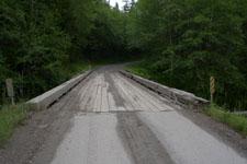 オリンピック国立公園の木の橋の画像001