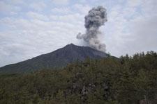 桜島の噴火の画像003