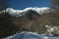 八ヶ岳の雪山の画像001