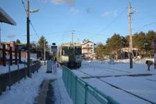 雪の中の小海線の画像006