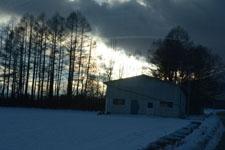 雪に埋もれた畑の画像001