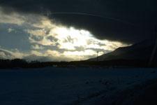 雪に埋もれた畑の画像002