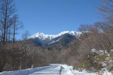冬の八ヶ岳 雪山の画像002