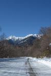 冬の八ヶ岳 雪山の画像003