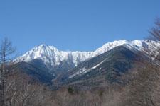 冬の八ヶ岳 雪山の画像004