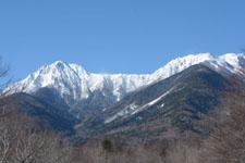 冬の八ヶ岳 雪山の画像005