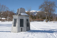 野辺山駅の標石